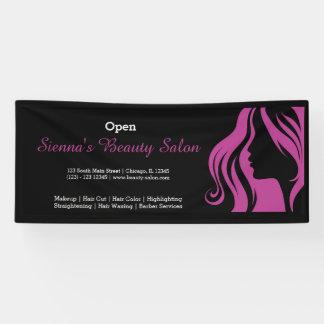Beauty Salon (plum) Banner