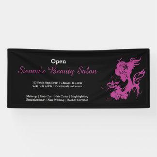 Beauty Salon (plum) * choose background color Banner