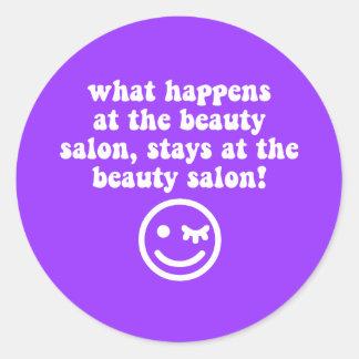 Beauty salon stickers