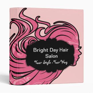 Beauty Salon Style Binder