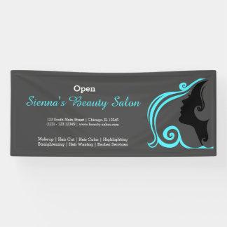 Beauty Salon (turquoise) * choose background color Banner