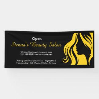 Beauty Salon (yellow) Banner