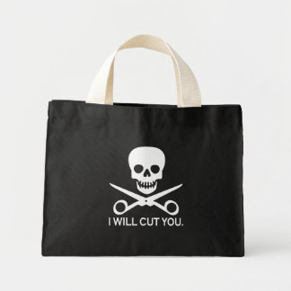 Beauty Shop Pirate_2 Mini Tote Bag