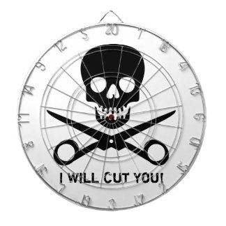 Beauty Shop Pirate Dartboard