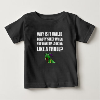 Beauty Sleep Troll Baby T-Shirt