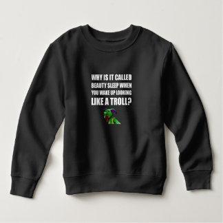 Beauty Sleep Troll Sweatshirt