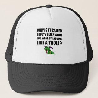 Beauty Sleep Troll Trucker Hat