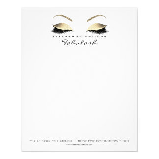 Beauty Studio Lashes Makeup Stylist Eyebrows Flyer