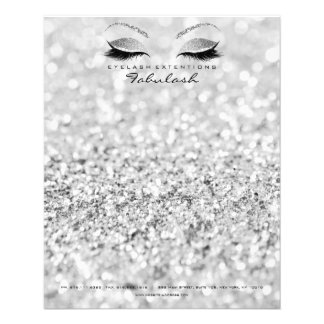 Beauty Studio Lashes Makeup Stylist Silver Gray1 Flyer