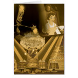 Beauty & The Beast | A Golden Collage Card