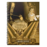 Beauty & The Beast | A Golden Collage Notebook