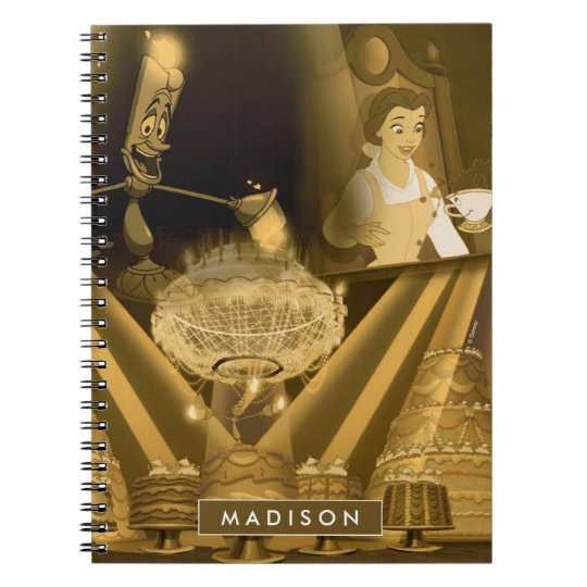 Beauty & The Beast | A Golden Collage Notebooks