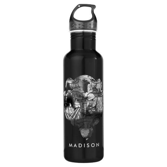 Beauty & The Beast | B&W Collage 710 Ml Water Bottle