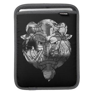 Beauty & The Beast | B&W Collage iPad Sleeve