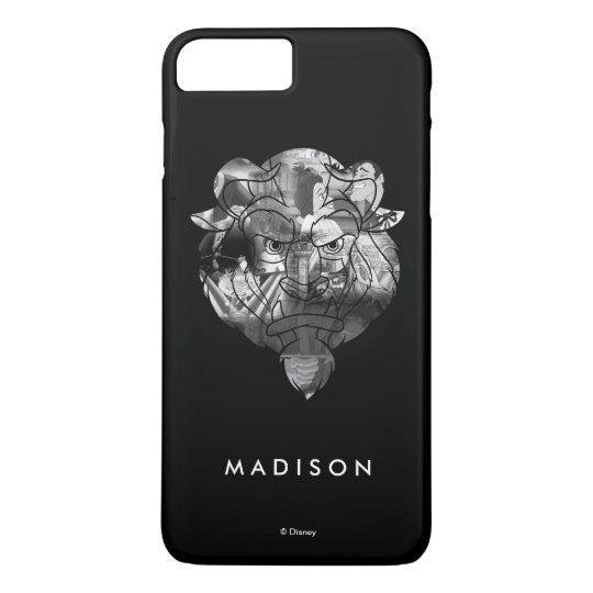 Beauty & The Beast | B&W Collage iPhone 7 Plus Case