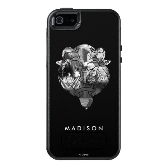 Beauty & The Beast | B&W Collage OtterBox iPhone 5/5s/SE Case