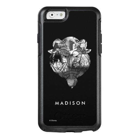 Beauty & The Beast | B&W Collage OtterBox iPhone 6/6s Case