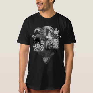 Beauty & The Beast | B&W Collage T-Shirt