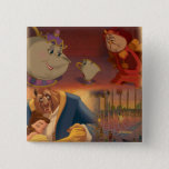 Beauty & The Beast | Beautiful Ballroom 2 Inch Square Button