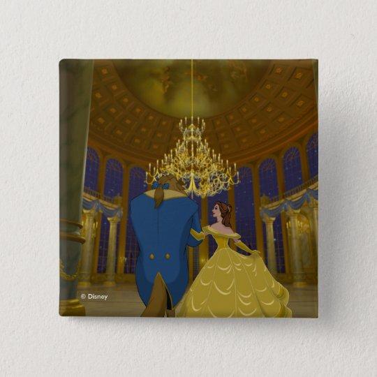 Beauty & The Beast | Beautiful Ballroom 2 Inch Square Button