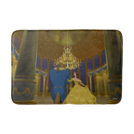 Beauty & The Beast | Beautiful Ballroom Bath Mat
