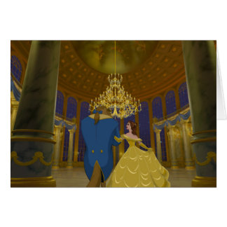 Beauty & The Beast | Beautiful Ballroom Card