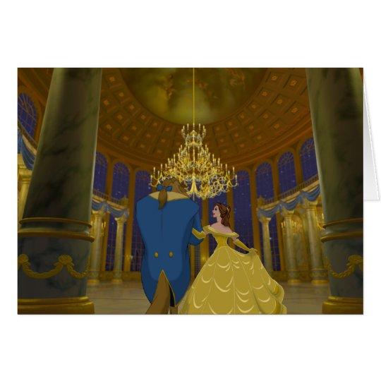 Beauty & The Beast | Beautiful Ballroom Card