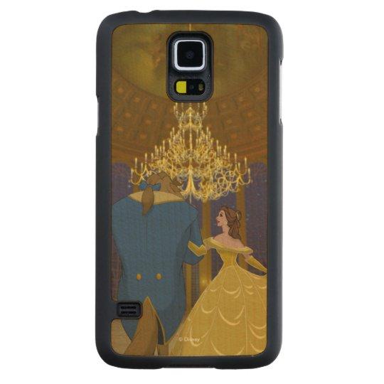 Beauty & The Beast | Beautiful Ballroom Carved Maple Galaxy S5 Case