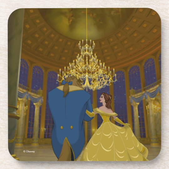 Beauty & The Beast | Beautiful Ballroom Drink Coasters