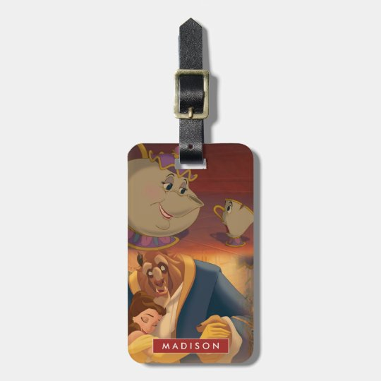 Beauty & The Beast | Beautiful Ballroom Luggage Tag