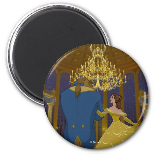 Beauty & The Beast | Beautiful Ballroom Magnet