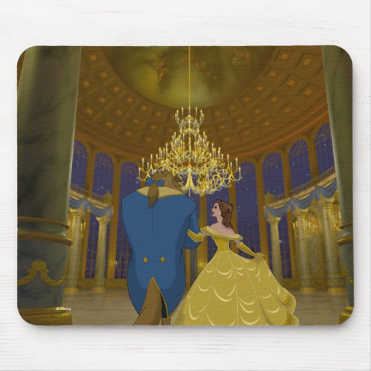 Beauty & The Beast | Beautiful Ballroom Mouse Pad
