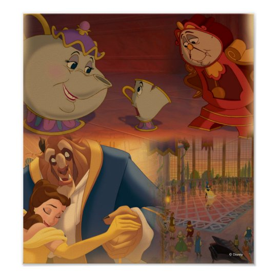 Beauty & The Beast | Beautiful Ballroom Poster