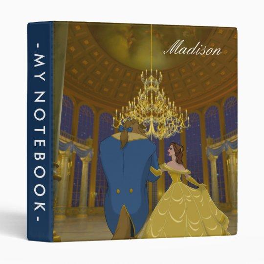 Beauty & The Beast | Beautiful Ballroom Vinyl Binder