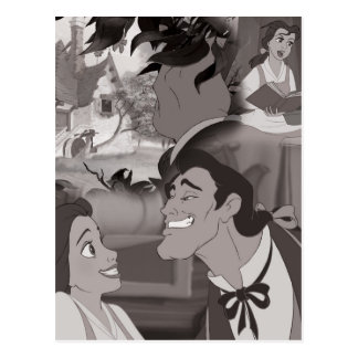 Beauty & The Beast | Belle & Gaston Postcard