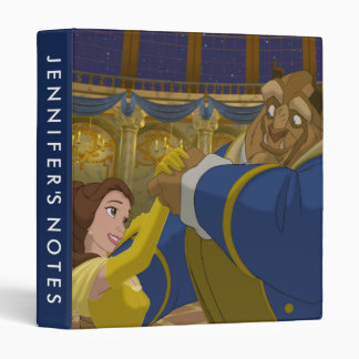 Beauty & The Beast | Belle & The Beast Dancing 3 Ring Binders