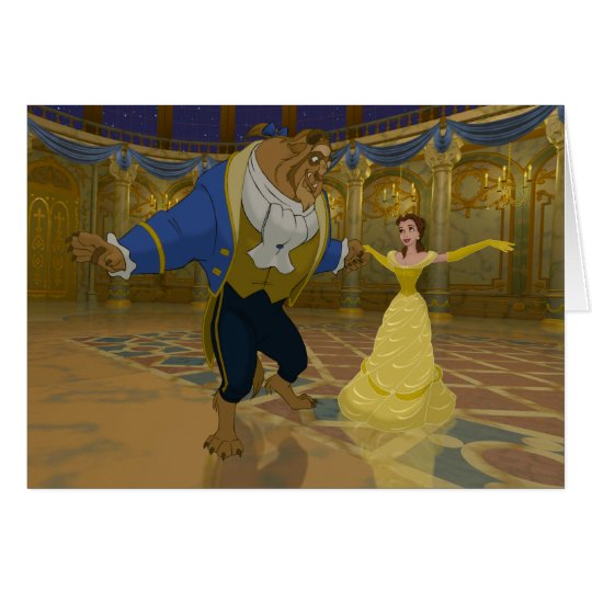 Beauty & The Beast | Dancing in the Ballroom Card