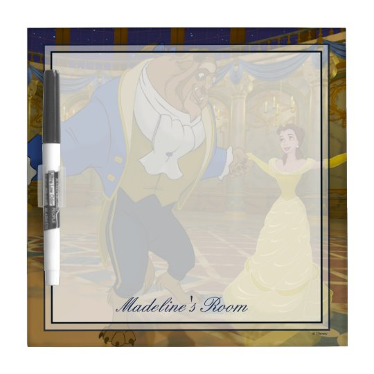 Beauty & The Beast | Dancing in the Ballroom Dry Erase Board