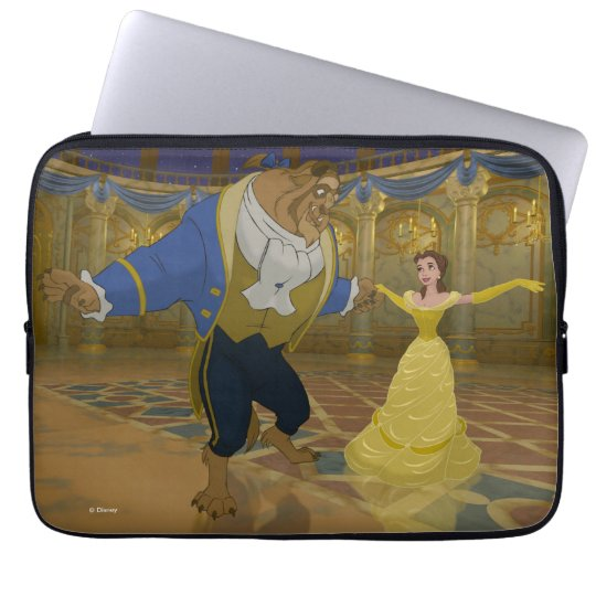 Beauty & The Beast | Dancing in the Ballroom Laptop Sleeve