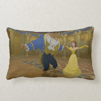 Beauty & The Beast | Dancing in the Ballroom Lumbar Pillow
