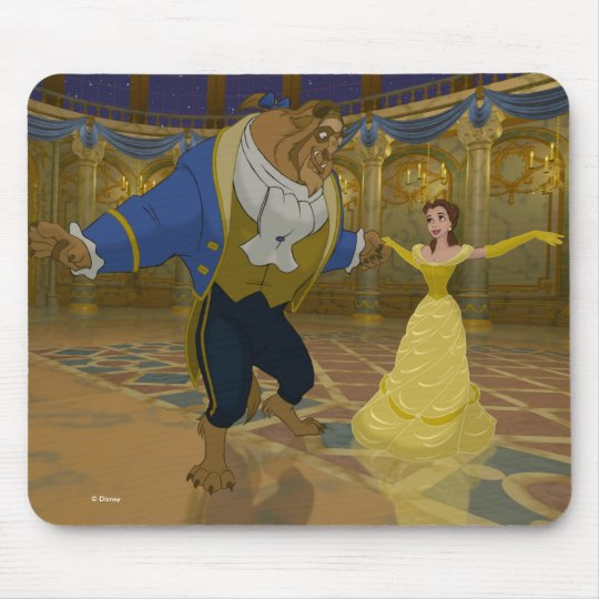 Beauty & The Beast | Dancing in the Ballroom Mouse Pad