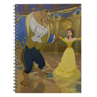 Beauty & The Beast | Dancing in the Ballroom Notebooks