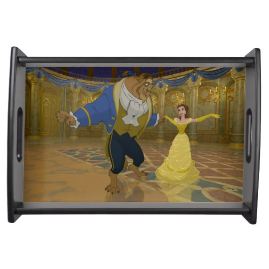 Beauty & The Beast | Dancing in the Ballroom Service Trays