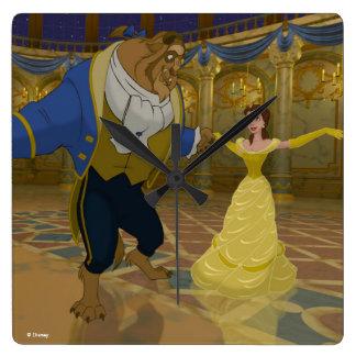 Beauty & The Beast | Dancing in the Ballroom Wallclock