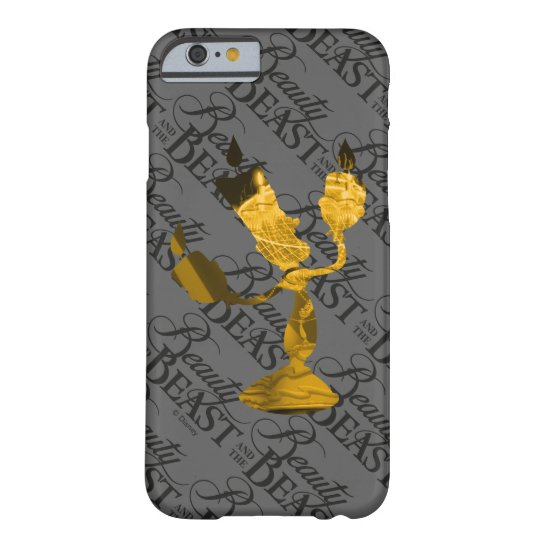 Beauty & The Beast | Lumière Silouette Barely There iPhone 6 Case