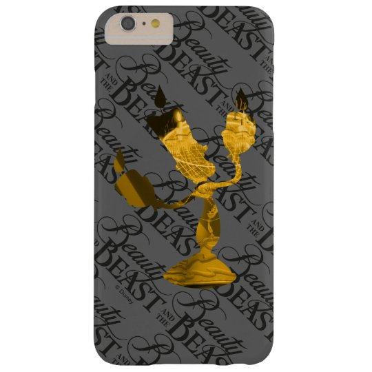 Beauty & The Beast | Lumière Silouette Barely There iPhone 6 Plus Case