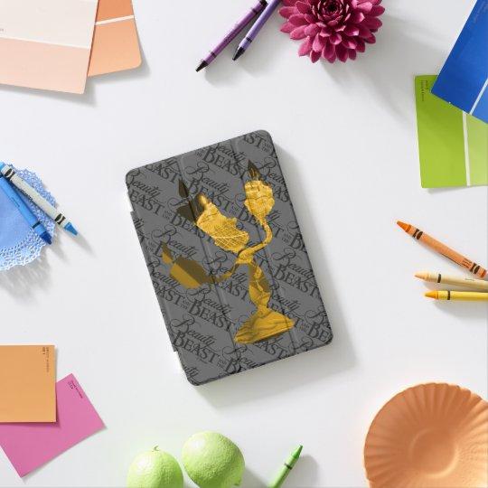 Beauty & The Beast | Lumière Silouette iPad Mini Cover