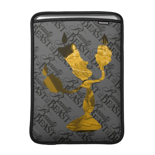 Beauty & The Beast | Lumière Silouette MacBook Sleeve