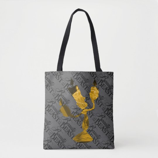 Beauty & The Beast | Lumière Silouette Tote Bag