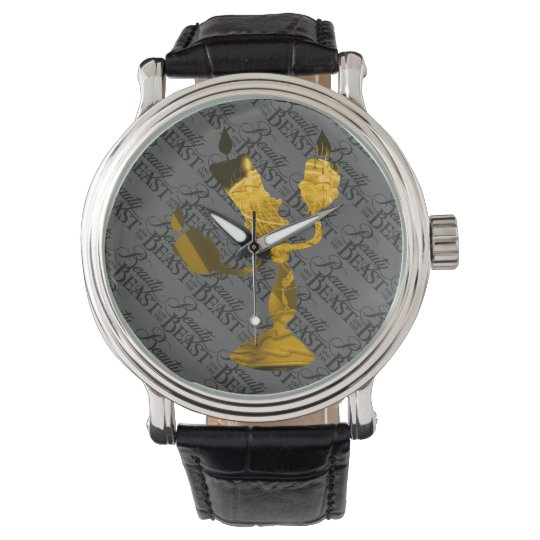Beauty & The Beast | Lumière Silouette Wristwatches
